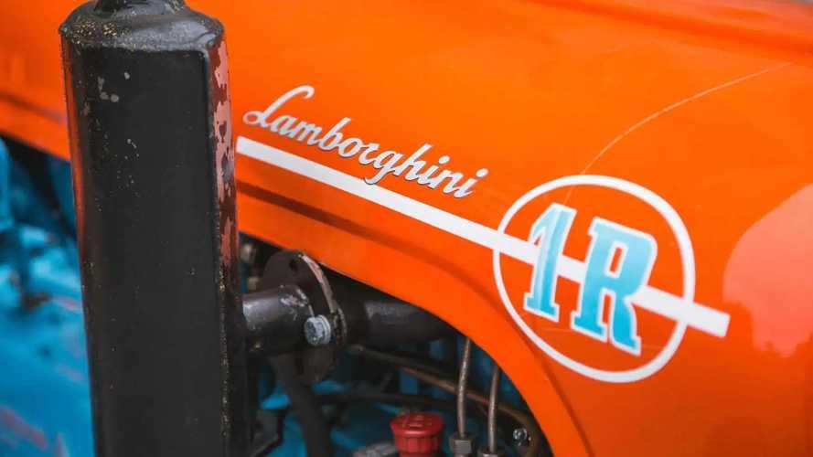 Lamborghini 1R, restaurierter Traktor von 1966