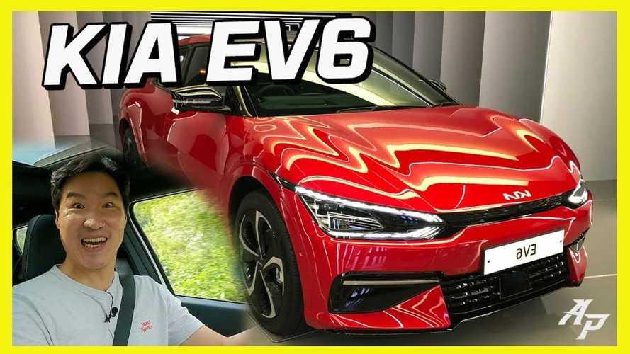 All-New Kia EV6 First Drive: Is It Better Than Hyundai Ioniq 5?