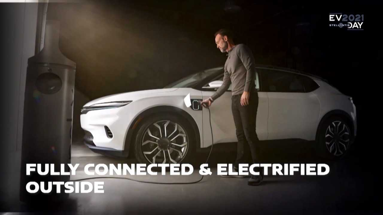 Stellantis hat offenbar einen neuen Elektro-Chrysler angeteasert