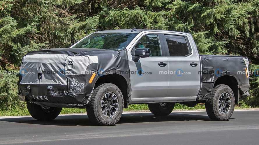 Chevrolet nuovo Silverado, le foto spia di tutte le versioni
