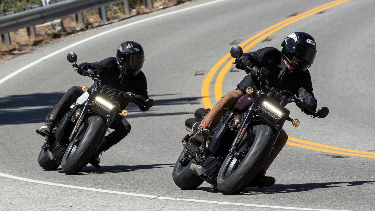2021 Harley-Davidson-Sportster S - Duo