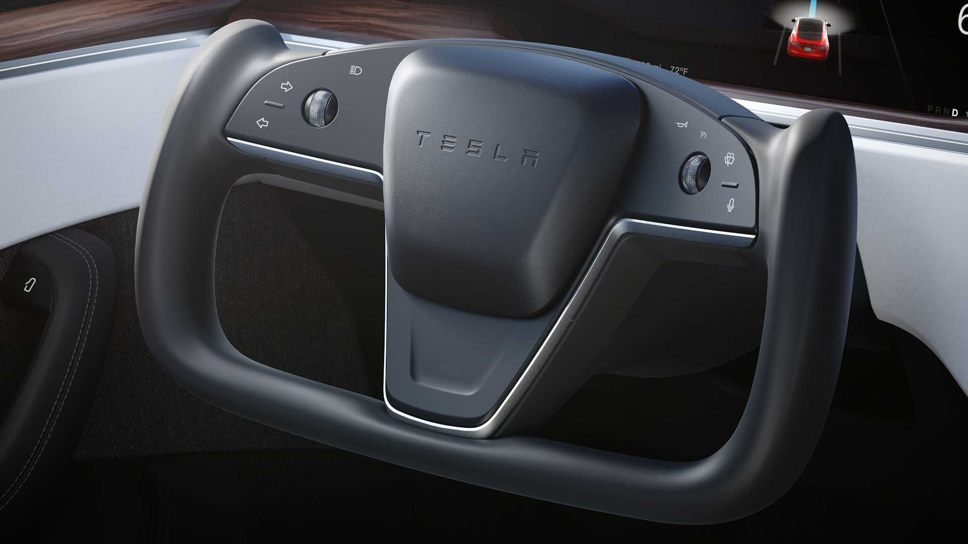 Tesla steering yoke evaluation raises safety concerns - report