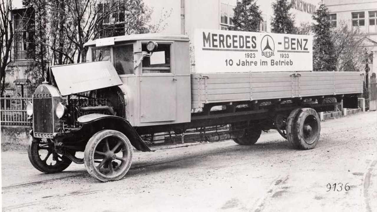 Gli autocarri Diesel firmati Daimler dal 1923