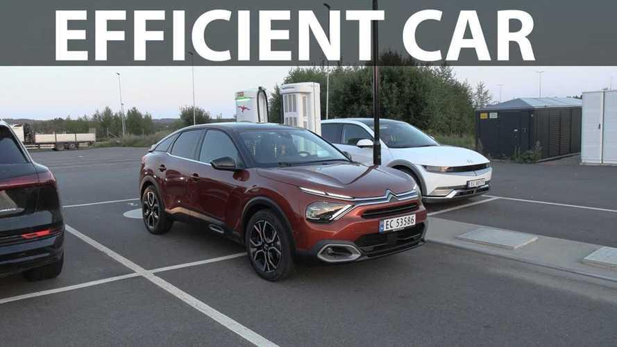 Citroën e-C4's Range Is About 300 Km In Bjørn Nyland's Test