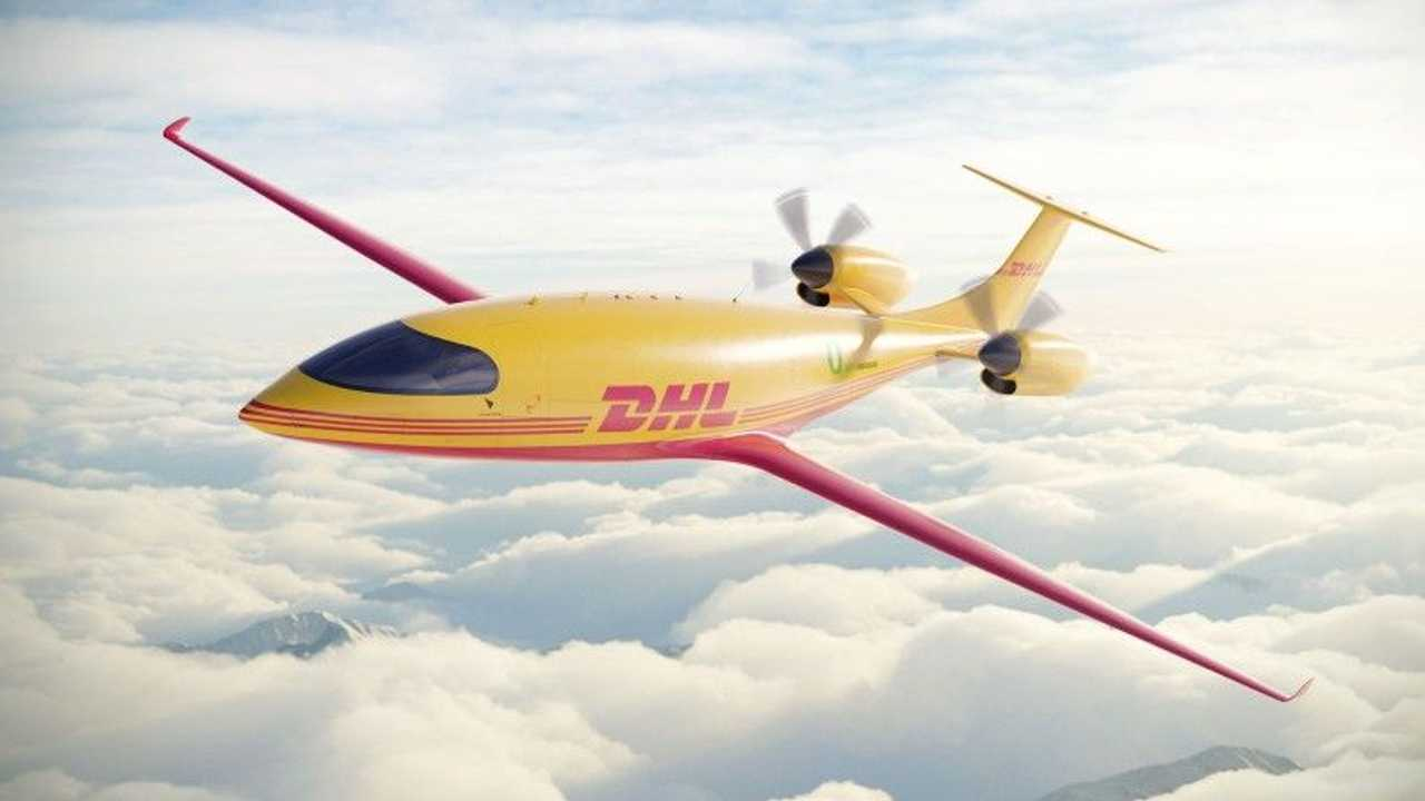 DHL bestellt 12 Elektroflugzeuge vom Typ Eviation Alice