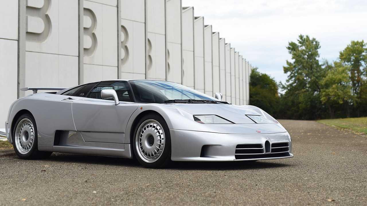 La Bugatti EP 110 compie 30 anni