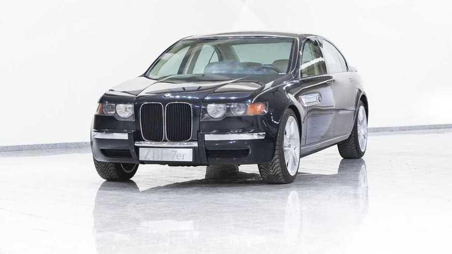 A jelek szerint a BMW már régen is óriási hűtőrácsokról álmodott