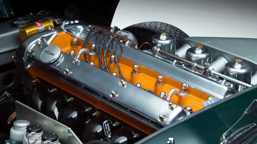Jaguar 6 cilindri XK