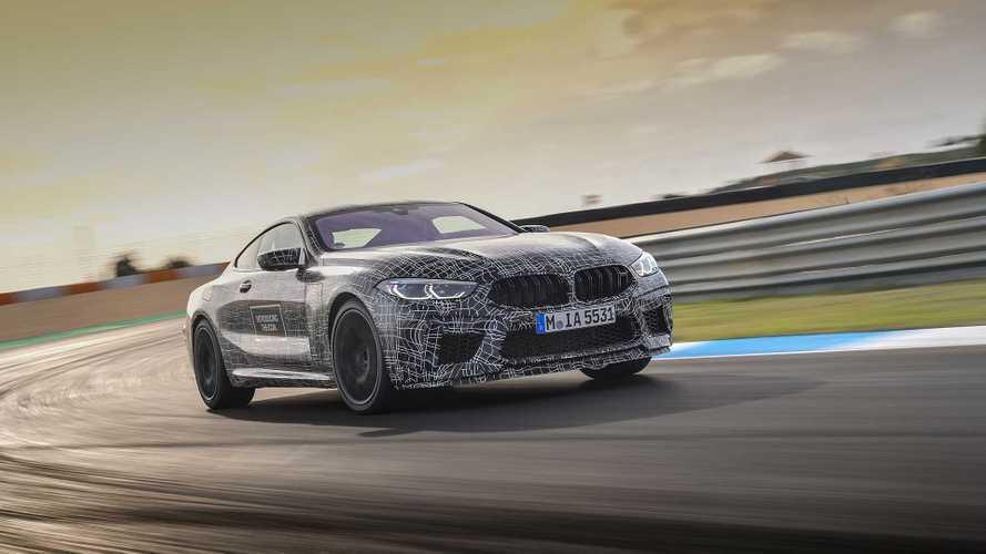 BMW M8, le foto spia ufficiali