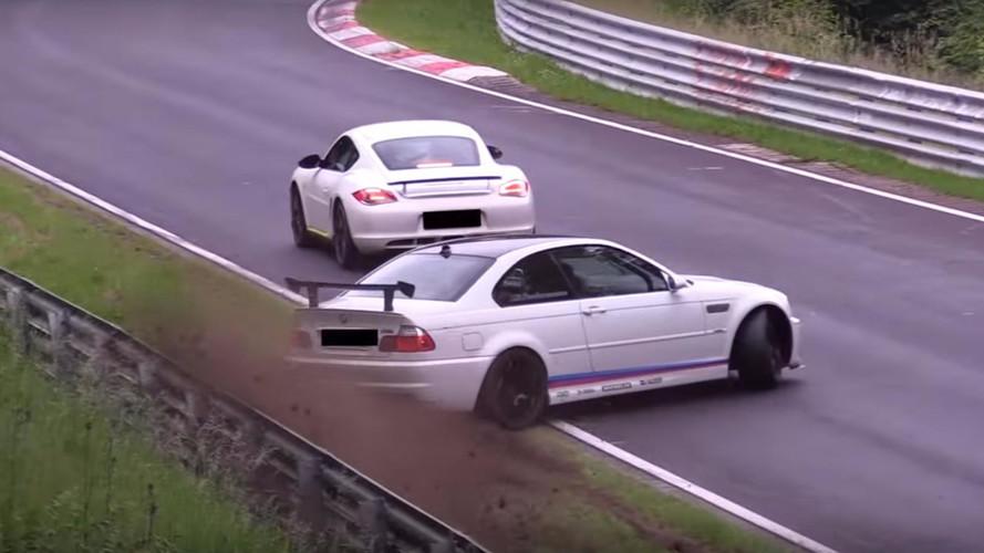 VIDÉO - Sortie de route pour cette BMW M3 E46 au Nürburgring