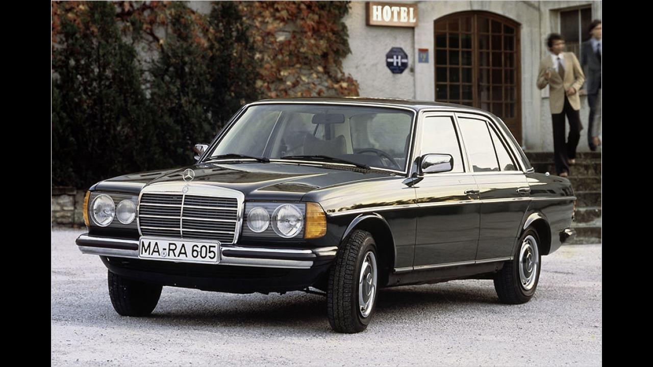 Platz 2: Der Mercedes W 123 mit 18.578 Fahrzeugen