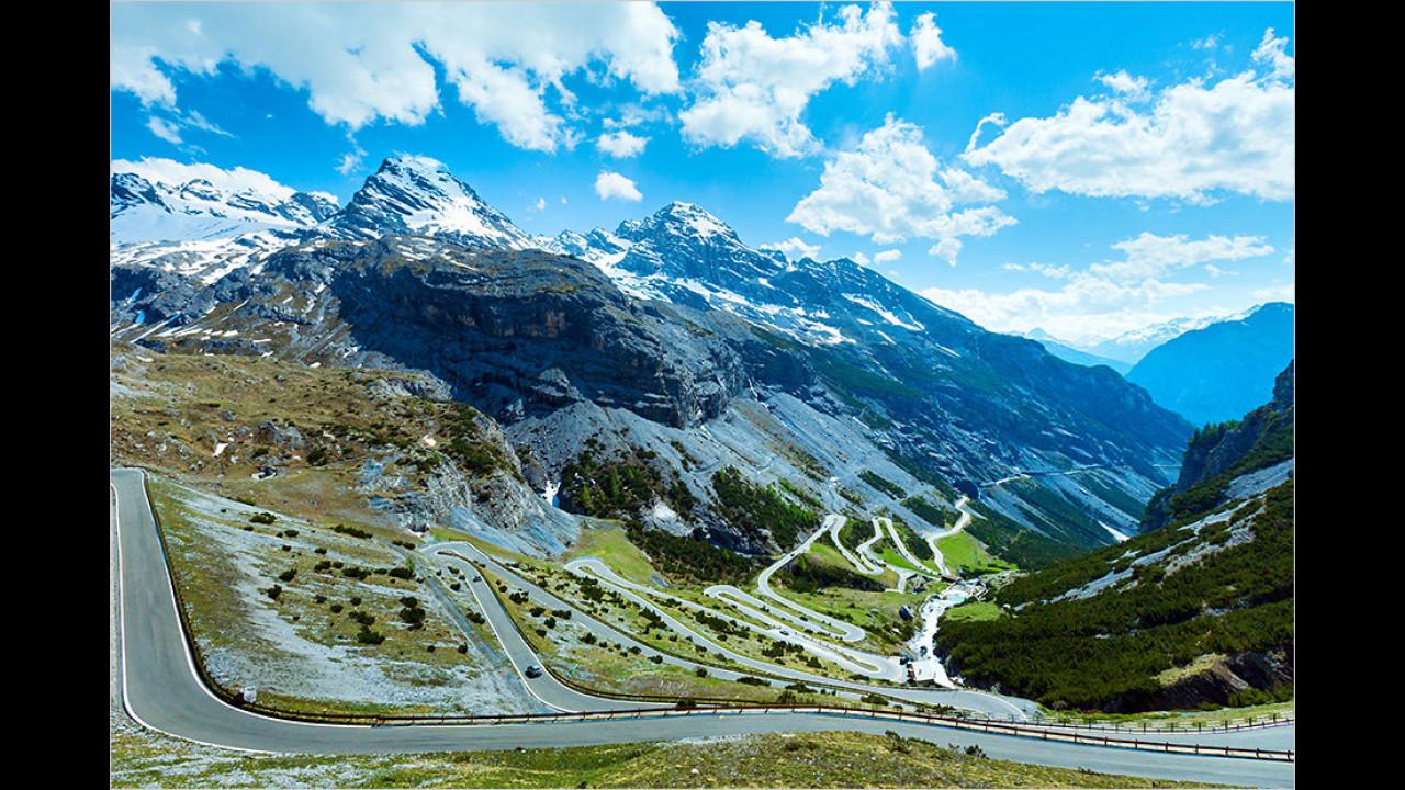 Stelvio-Pass, Italien