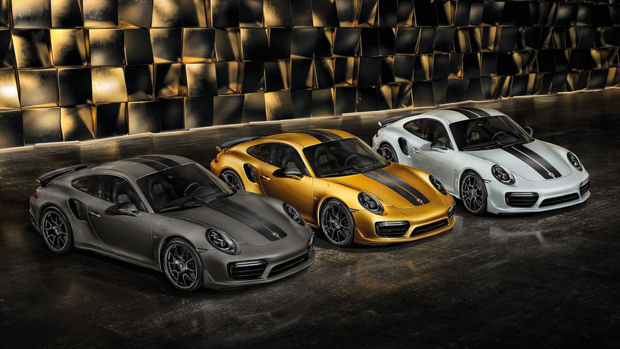 Stare At The Porsche 911 Turbo S Exclusive Series In New Images