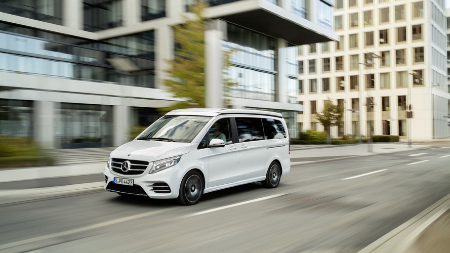 Mercedes V-Class Marco Polo Horizon seats seven, sleeps five