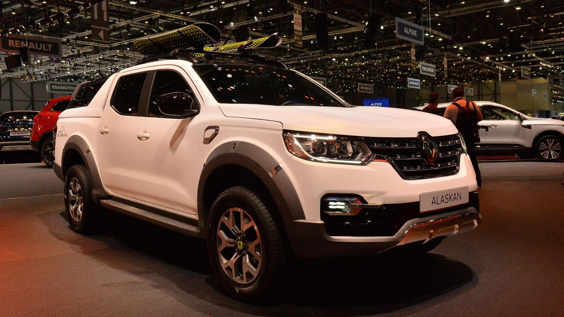 Renault Alaskan Pickup Goes On Sale In Europe This September