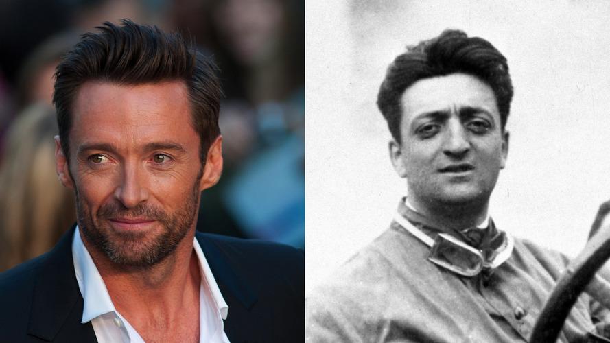 Hugh Jackman, Enzo Ferrari'yi oynayacak
