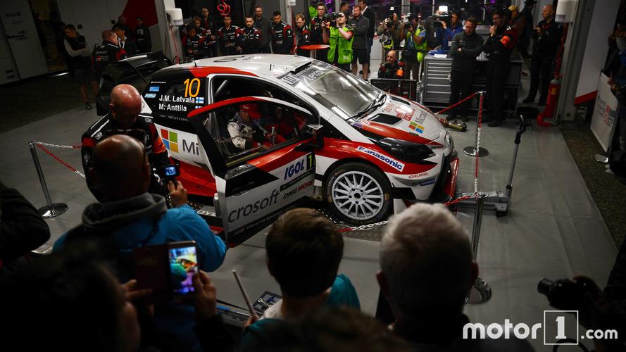 WRC - Une soirée avec l'assistance Toyota au Tour de Corse
