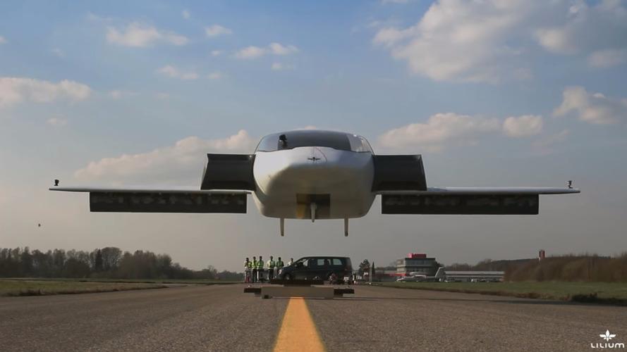 Le jet électrique qui imite l'hélicoptère réussit son décollage