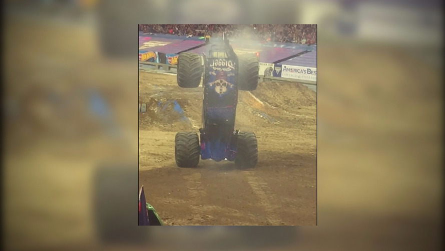 Monster Truck Does Massive Moonwalk, Minds Are Blown