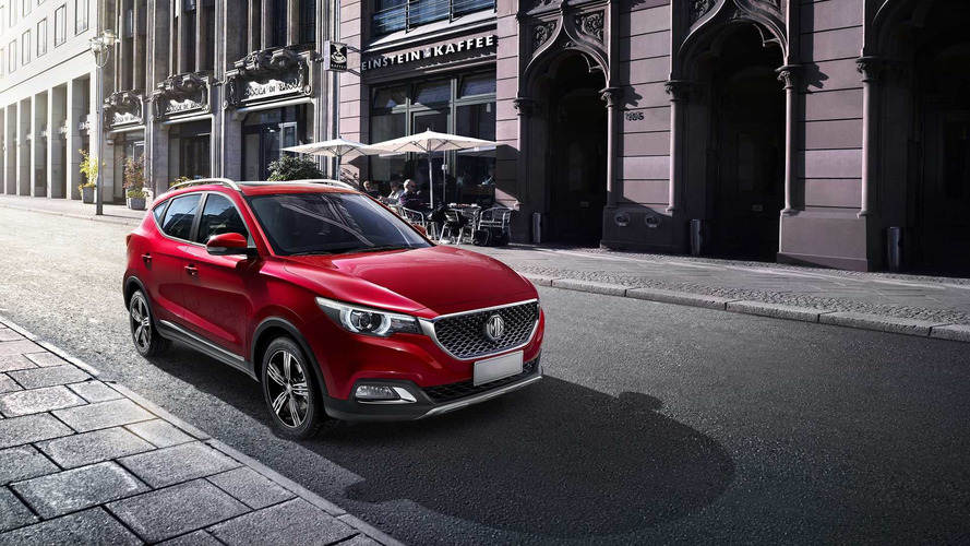 MG ZS Travels From China To London Motor Show With XS Moniker
