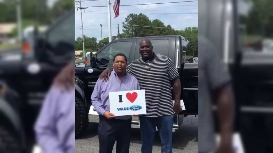 Shaq's New Ford F-650 Extreme Costs A Cool $124K