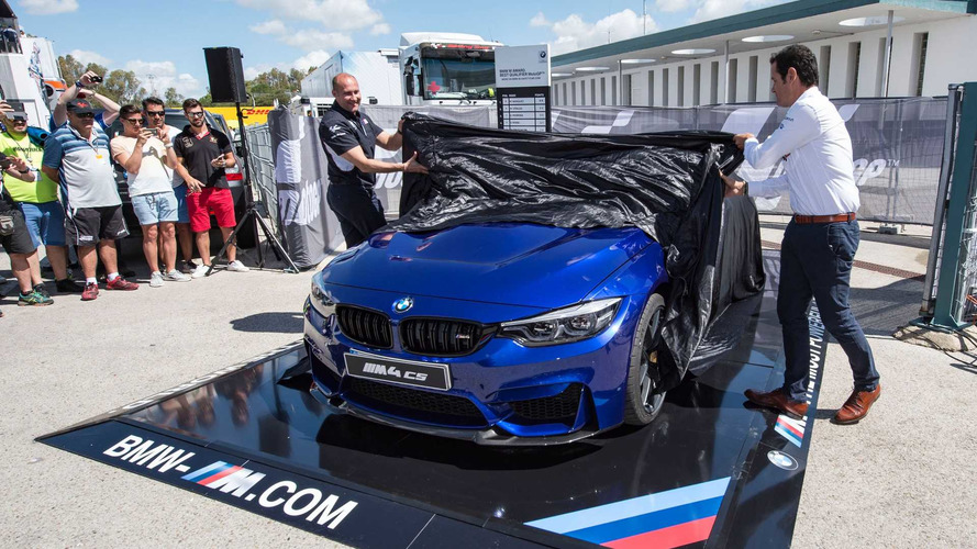 BMW M4 CS BMW M Award MotoGP 2017