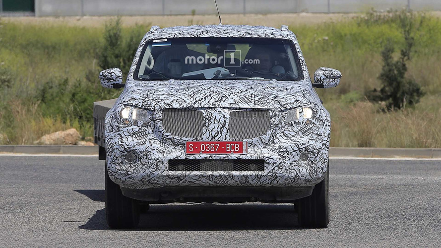 See The 2018 Mercedes X-Class In Motion During Final Testing