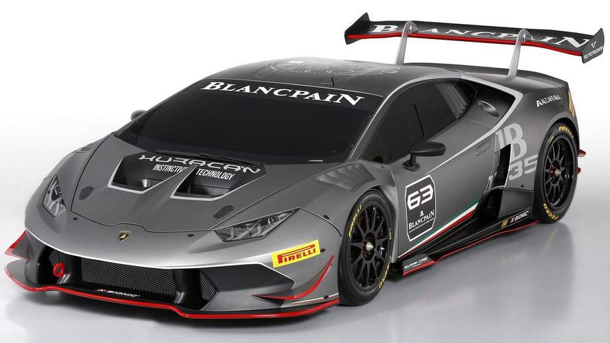 Lamborghini Huracan LP 620-2 Super Trofeo revealed