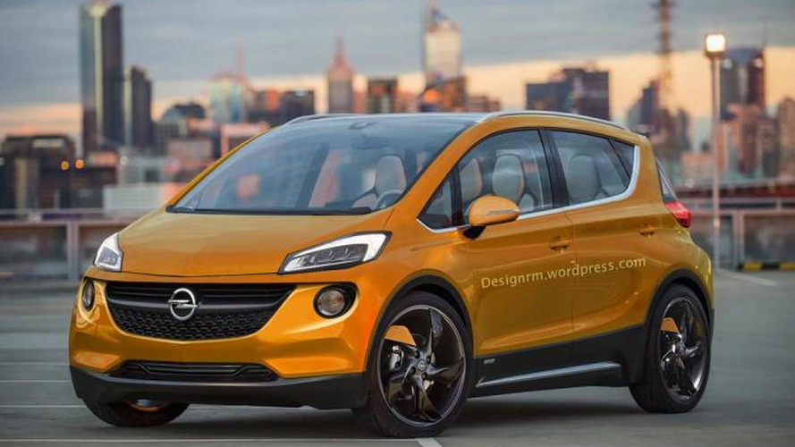 Chevrolet Bolt Ev Concept Rendered As A Production Ready Opel Model