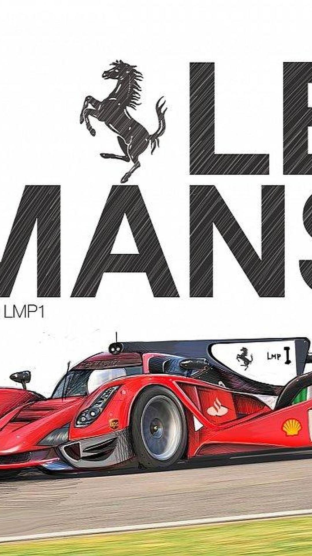 laferrari lmp1 race car rendered previews rumored ferrari