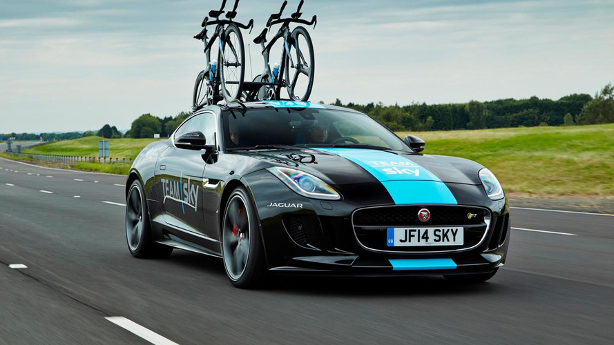 Jaguar F-Type R Coupé, la concept che ha corso al Tour de France