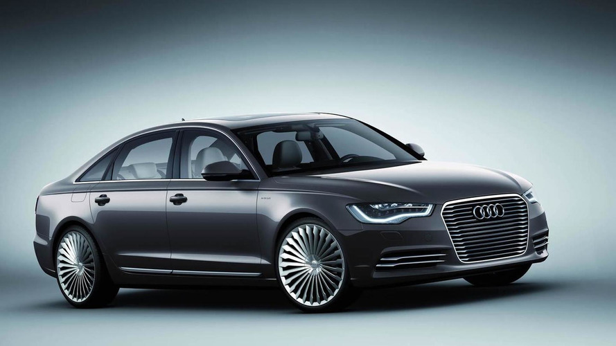 Audi A6 L e-tron Concept unveiled in Beijing