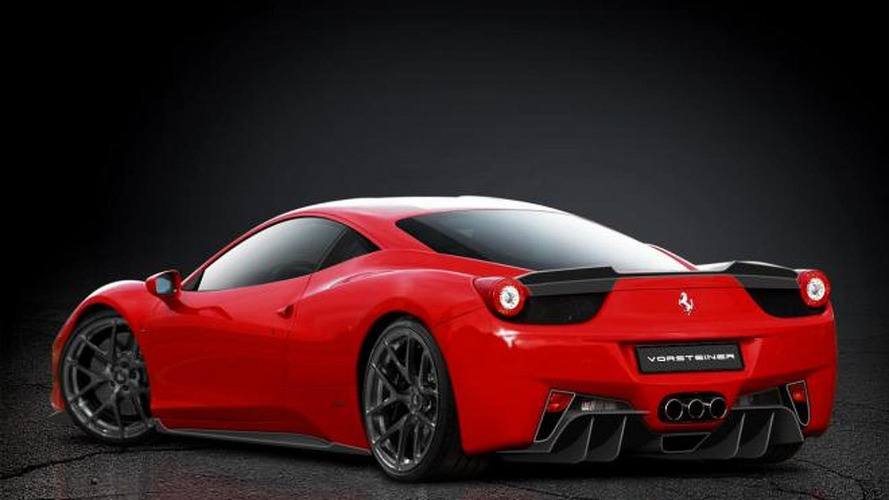 Ferrari 458 body styling by Vorsteiner previewed