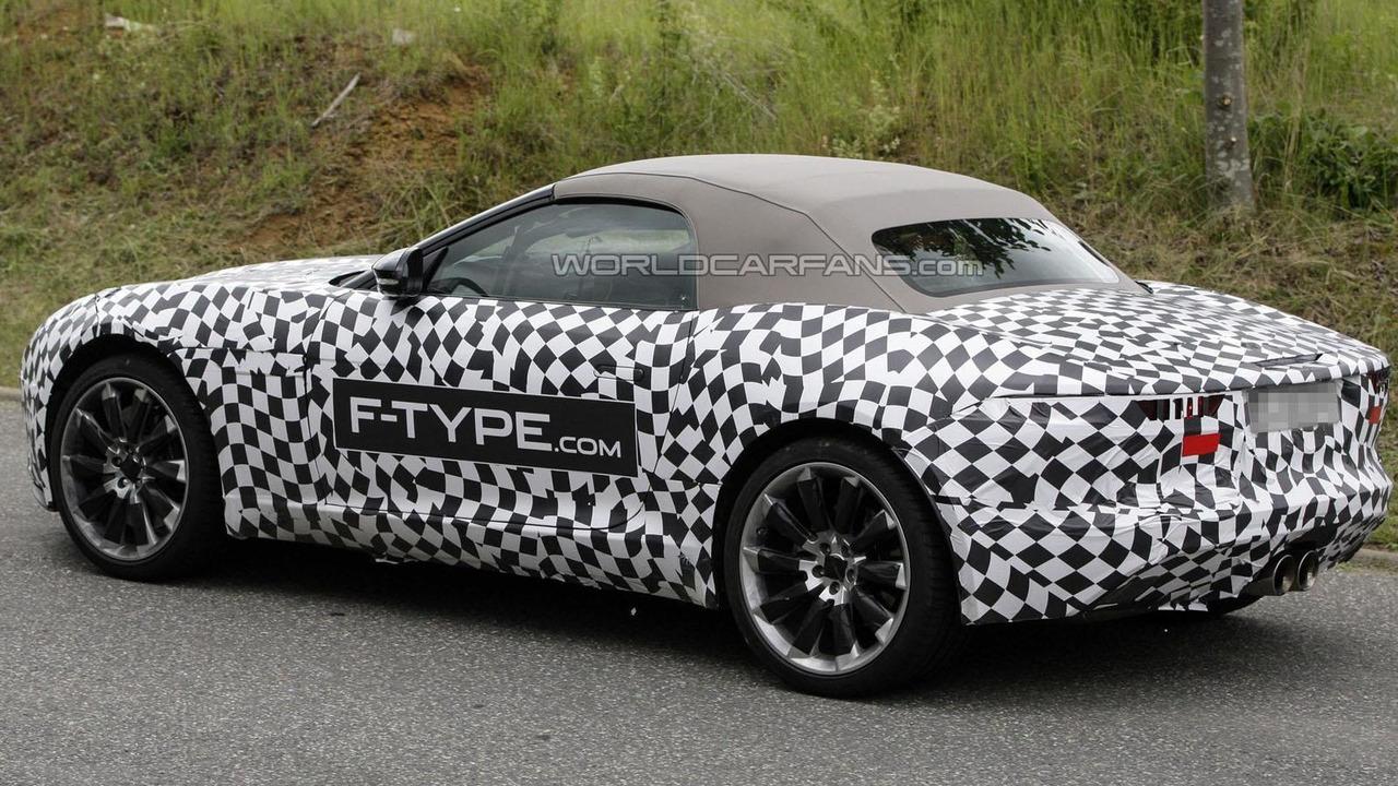 2014 Jaguar F-Type spy photo 11.6.2012