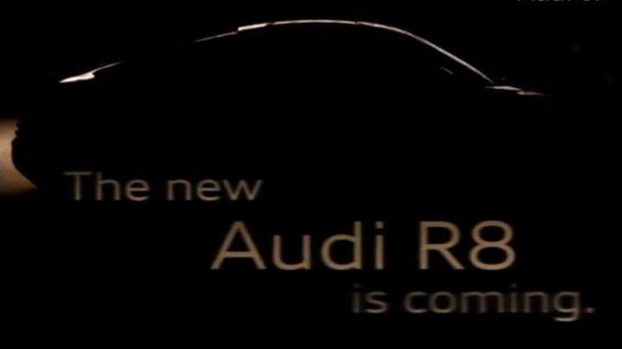 2013 Audi R8 teaser image 9.3.2012