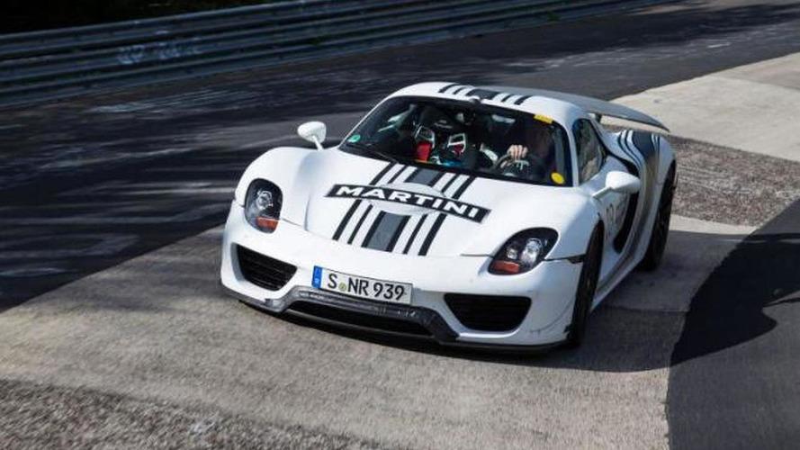 Porsche 918 Spyder laps Nürburgring in 7m 14sec