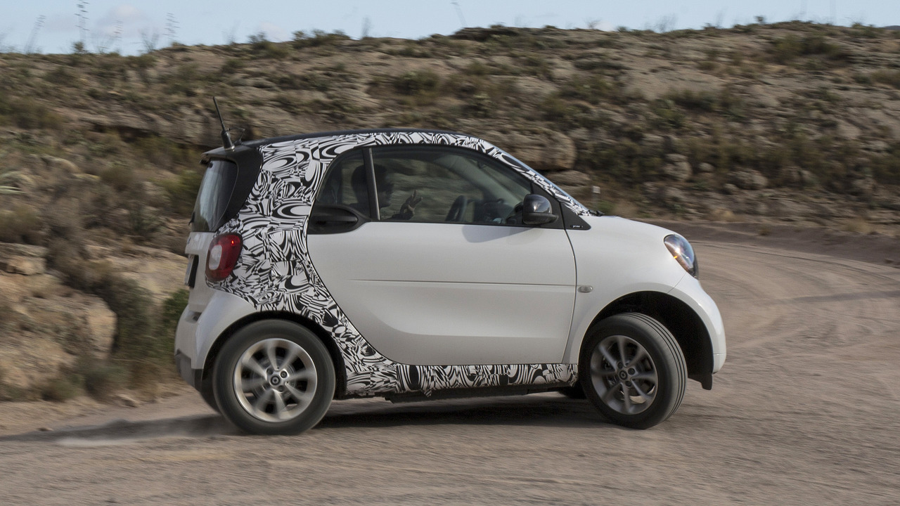 2017 Smart Fortwo Electric Drive Prototype First Ride