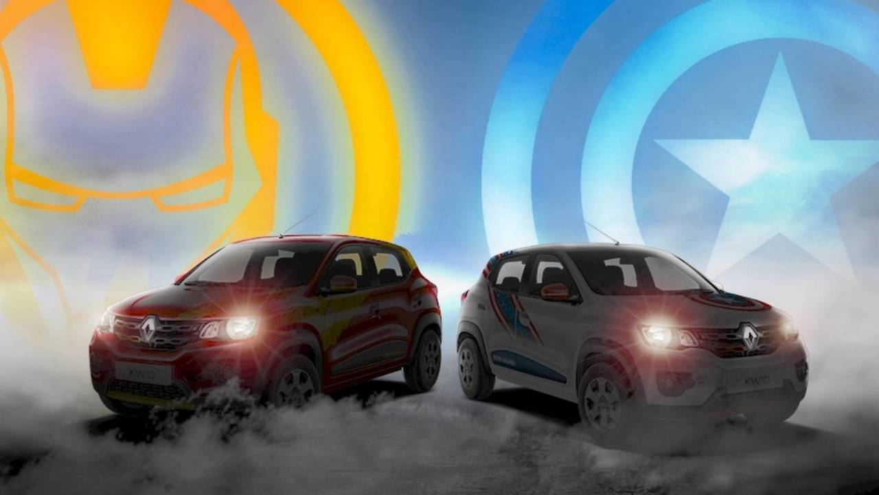 Renault Kwid Marvel Edition