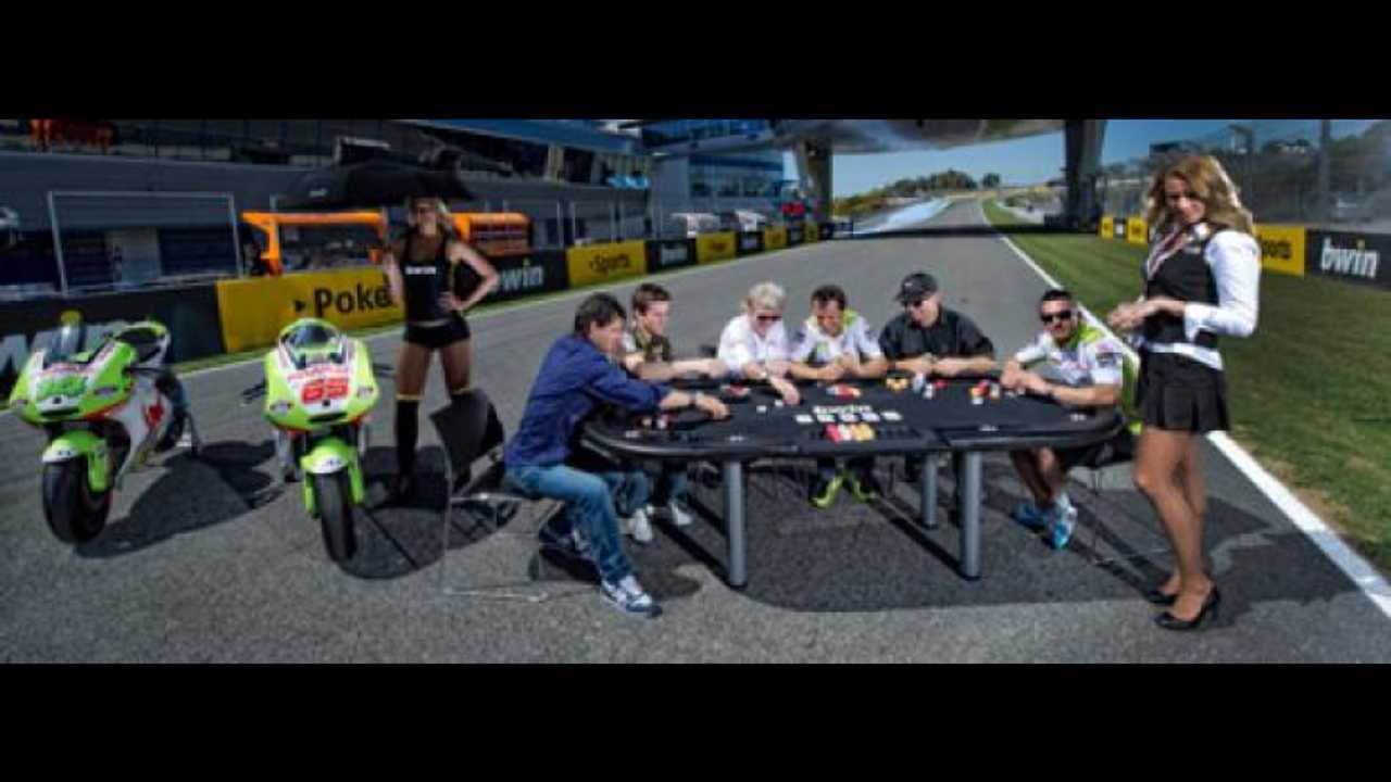 Sfida a poker in MotoGP
