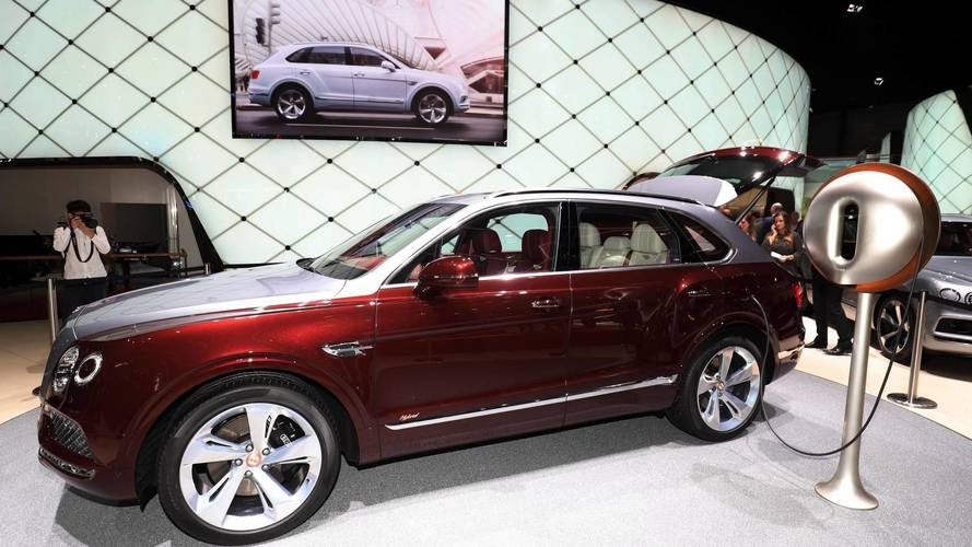 Bentley to electrify all models by 2023; EV coming in 2025