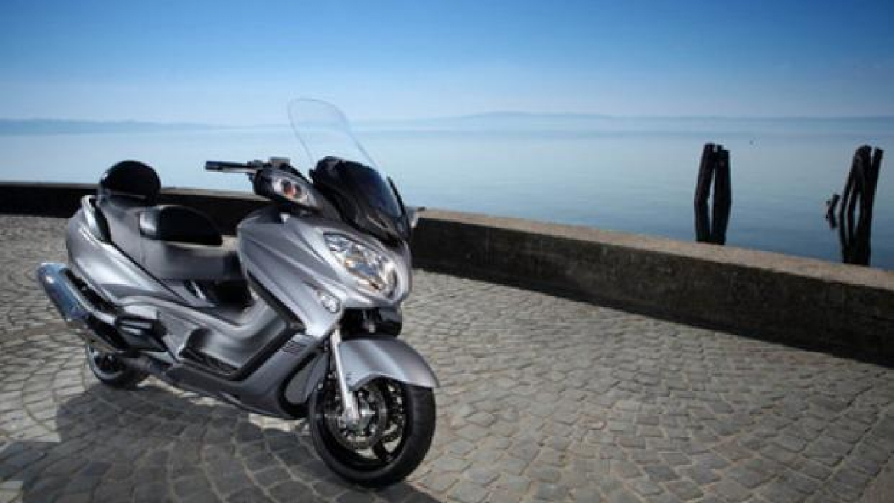 """Suzuki Burgman 650 2013: """"Detta legge!"""""""