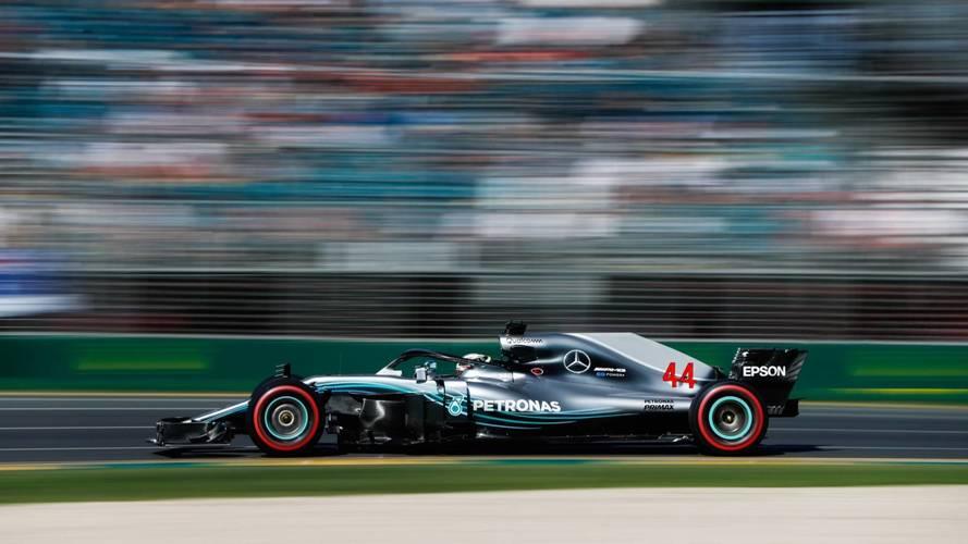 Hamilton domina la segunda sesión de libres de F1 en Australia
