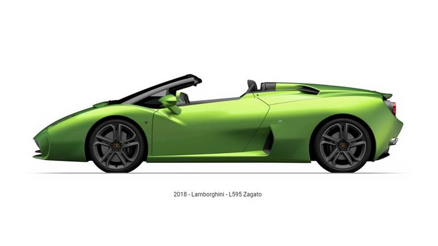 Lamborghini L595 Roadster Quietly Shows Up On Zagato's Website
