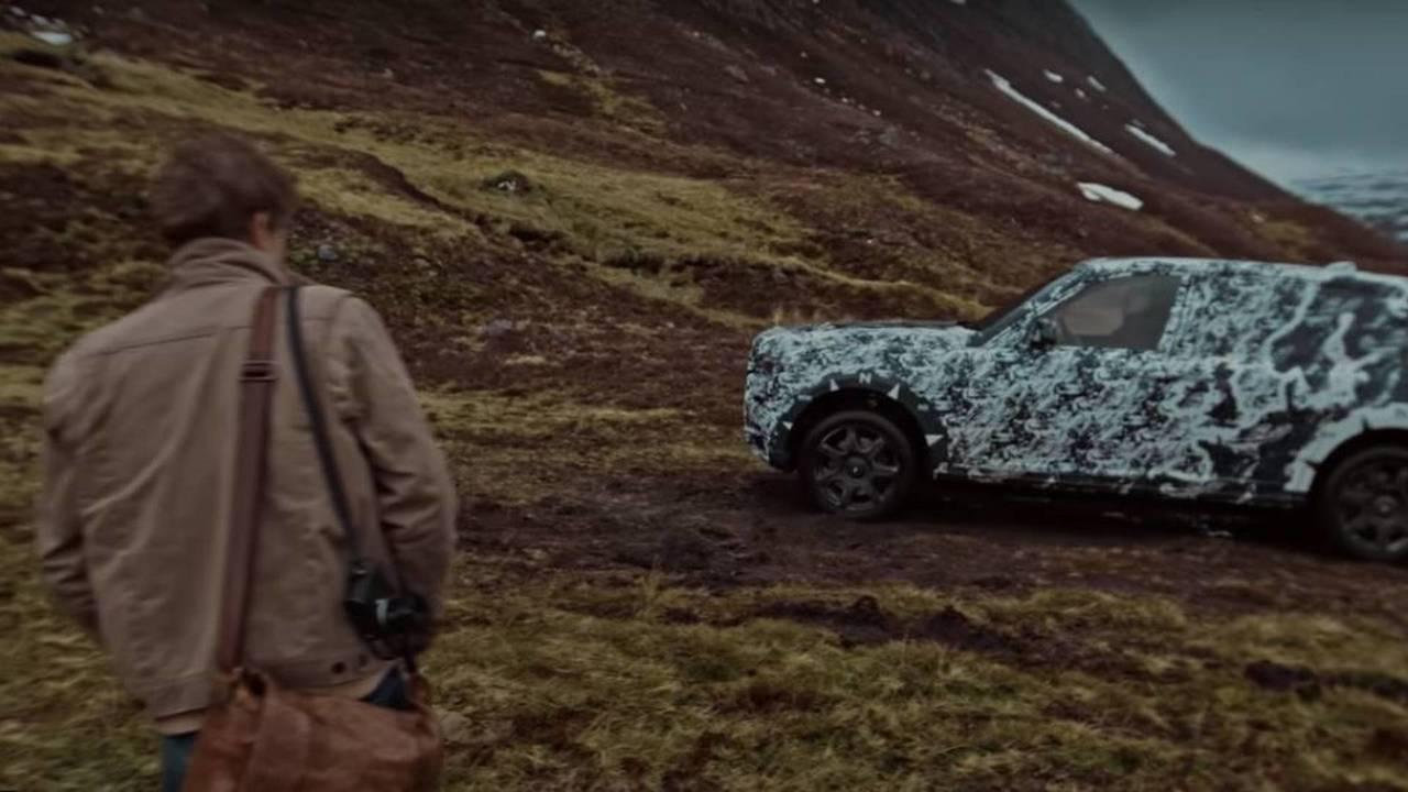 Rolls-Royce Cullinan video