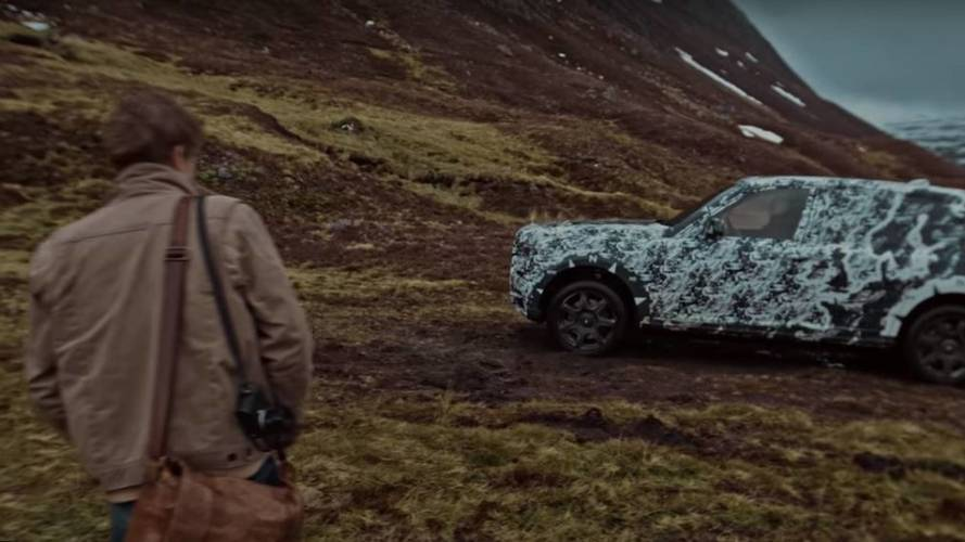 Rolls-Royce Cullinan, i primi video