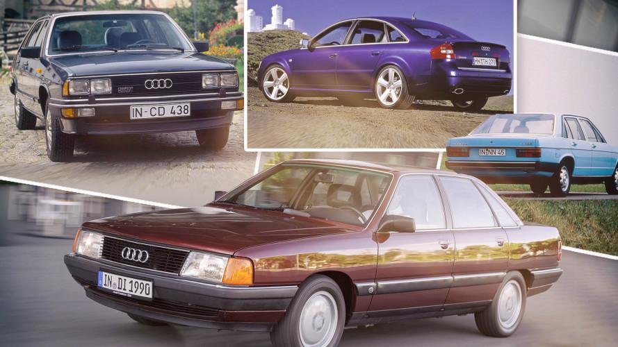 Vom Audi 100 zum A6: Geschichte der oberen Mittelklasse aus Ingolstadt