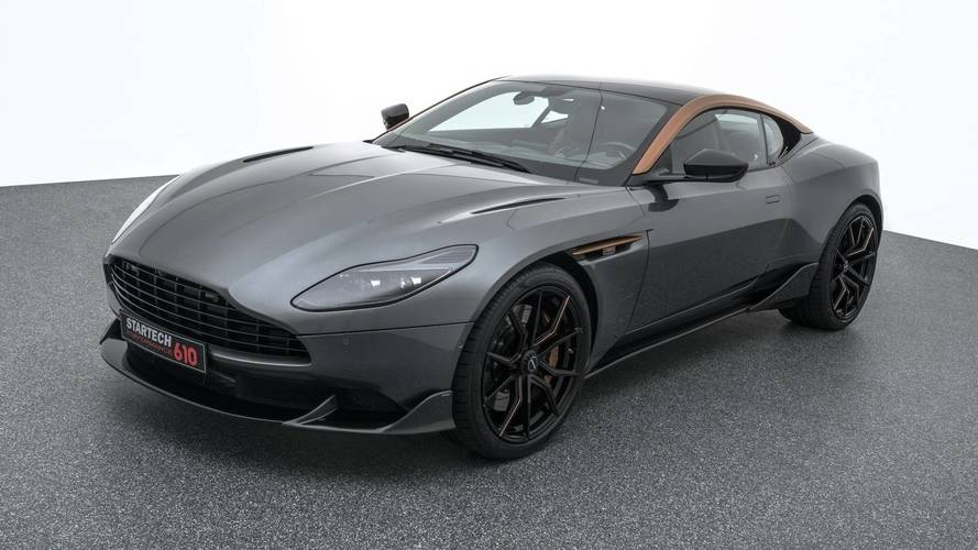 Aston Martin DB11 Gets Upgraded AMG V8 Engine From Startech