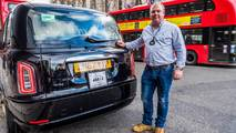 First new electric London taxi delivered