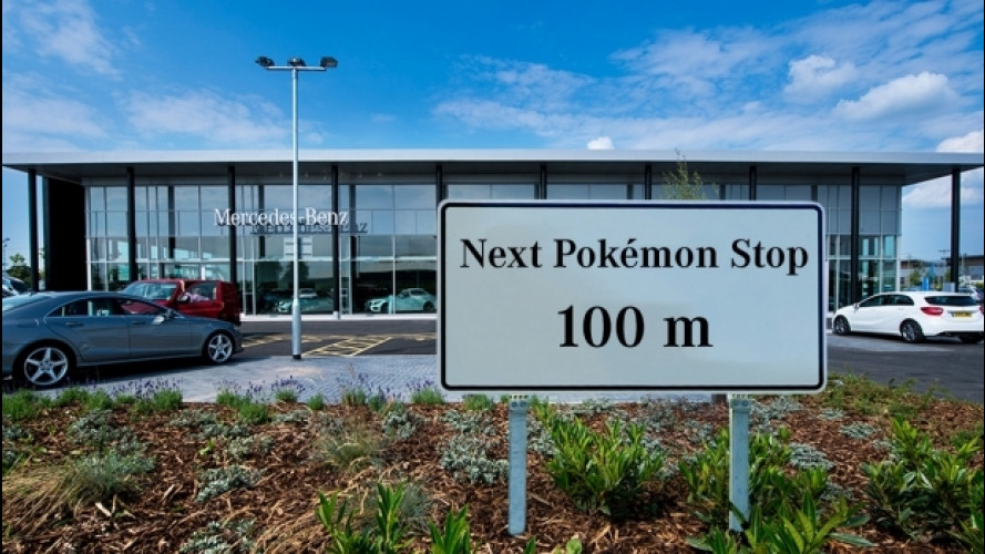 Pokemon Go, Mercedes trasforma i dealer in PokeStop