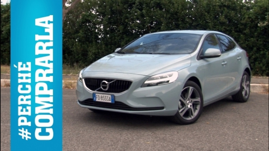 Volvo V40 restyling, perché comprarla... e perché no [VIDEO]